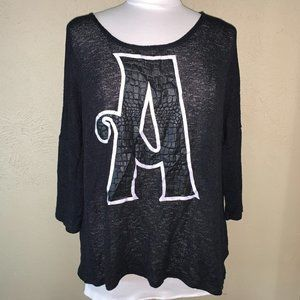 Divided by H&M Knit Pullover Sweater Black Medium